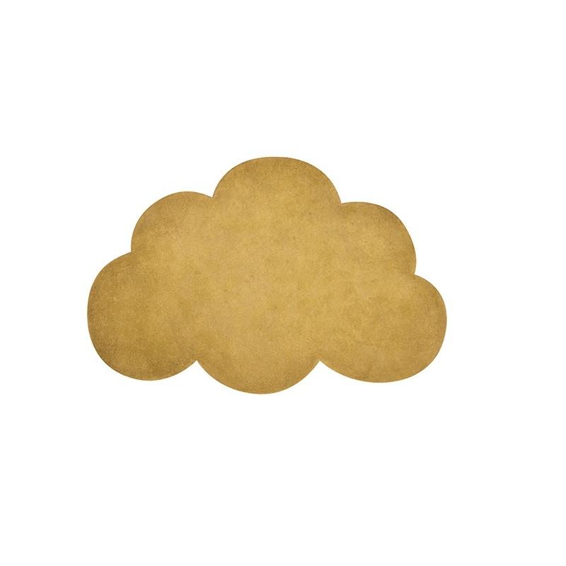 Alfombra nube mostaza - Lilipinso