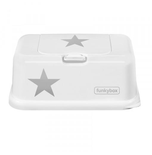 Caja para toallitas estrella blanca - Funkybox
