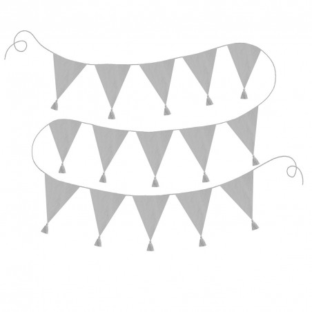 Banderines grises - Jabadabado