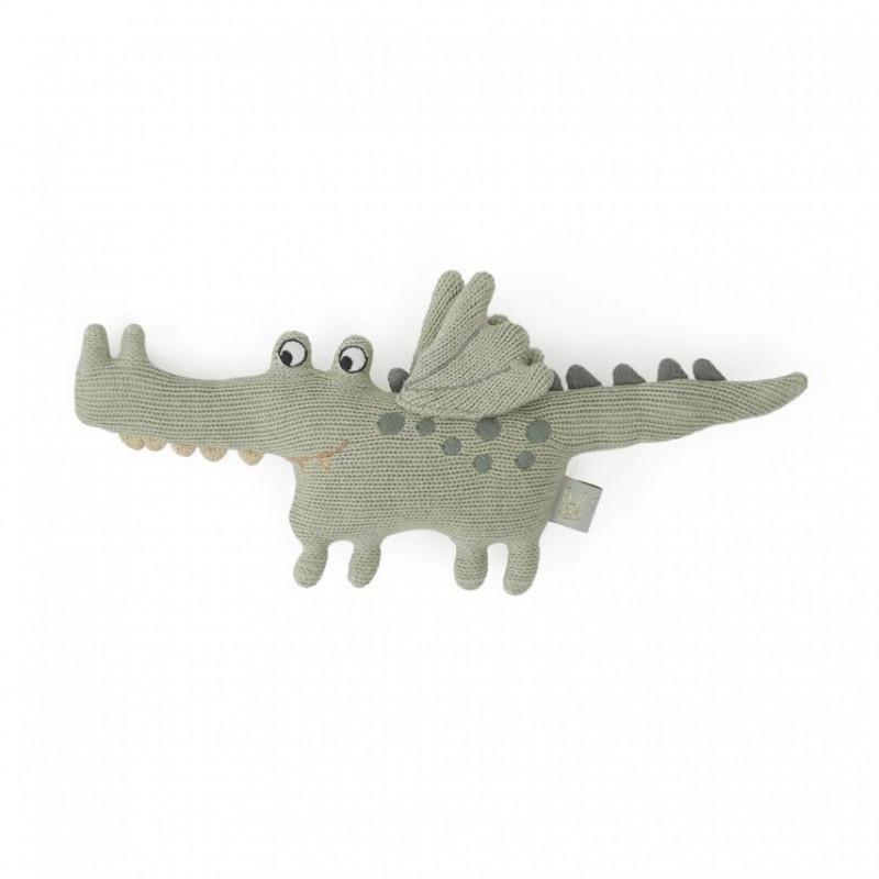 Peluche sonajero Buddy Crocodile - OYOY