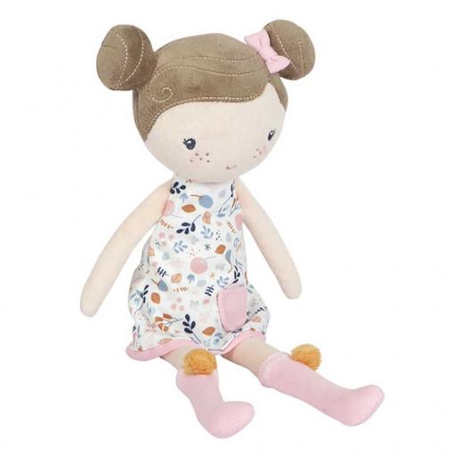 Muñeca Rosa con caja transportadora 35 cm - Little Dutch