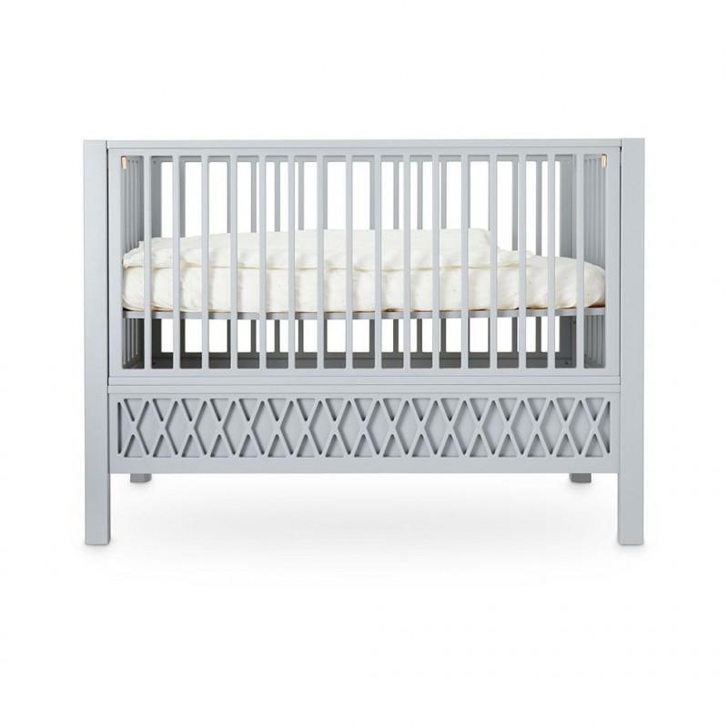 Cuna Harlequín gris 60x120 - Cam Cam Copenhagen