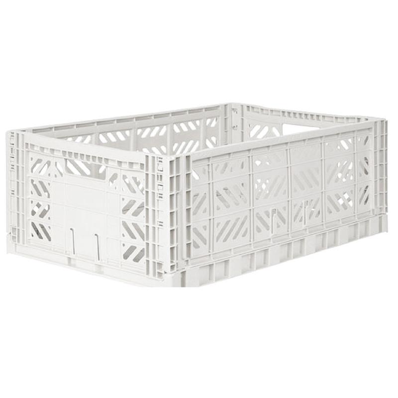 Caja plegable grande - blanca