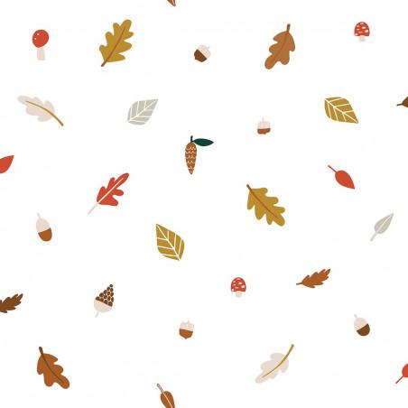 Papel pintado hojas de otoño - Lilipinso