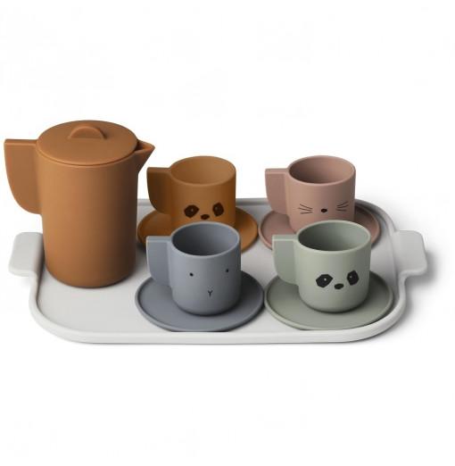 Set de té de silicona - Liewood