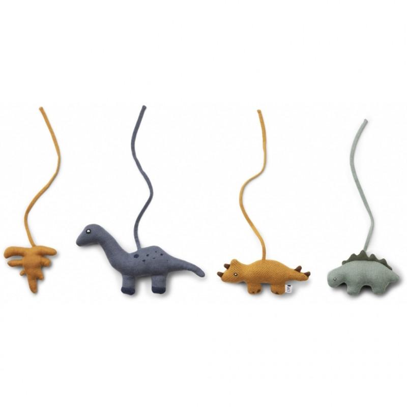 Juguetes para gimnasio bebé dinosaurios - Liewood