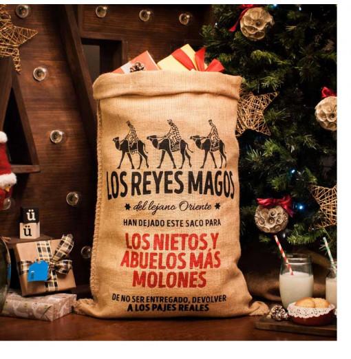 Saco Reyes Magos personalizado
