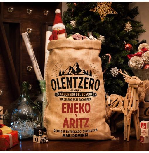 Saco Olentzero personalizado