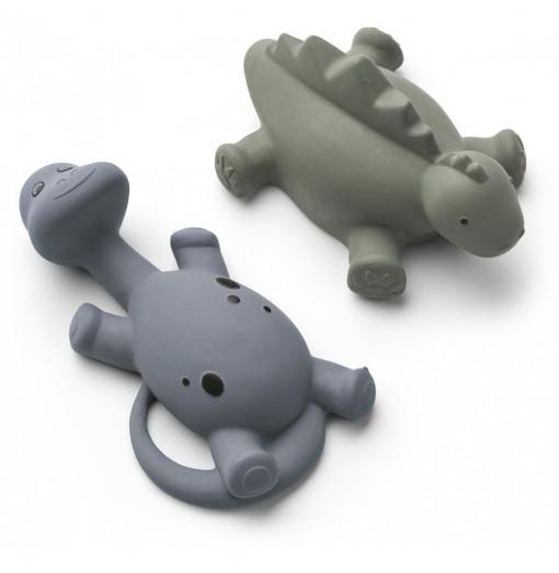 Pack de 2 juguetes para el baño dino - Liewood