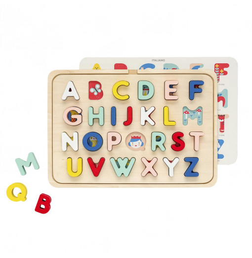 Puzzle encajable ABC -Petit Collage