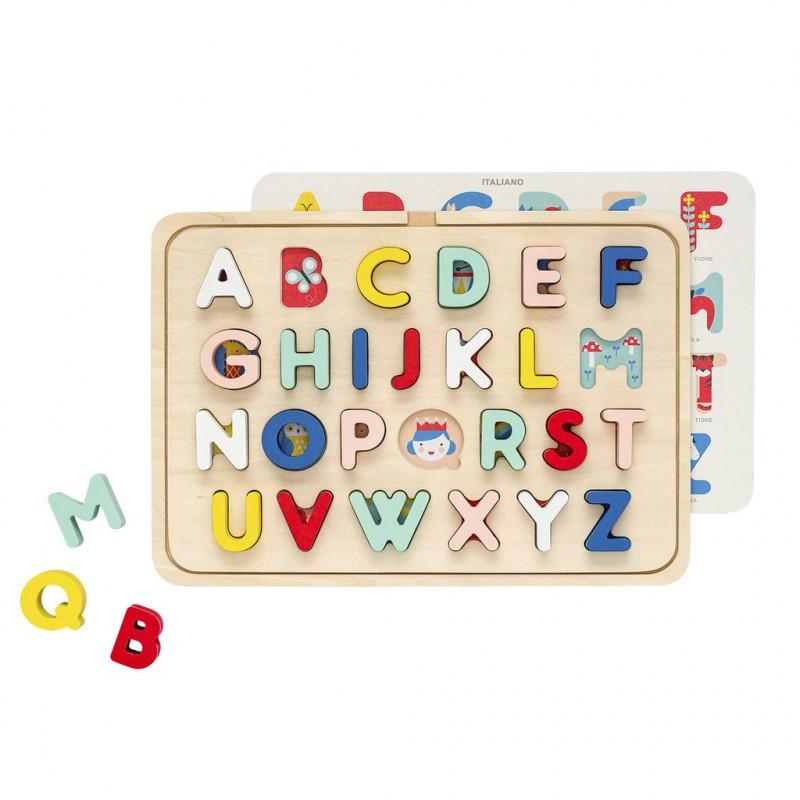 Puzzle encajable ABC -Petit Collage