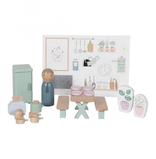 Cocina para casa de muñecas - Little Dutch