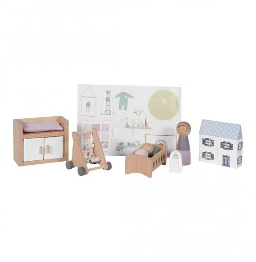 Habitación bebé para casa de muñecas - Little Dutch