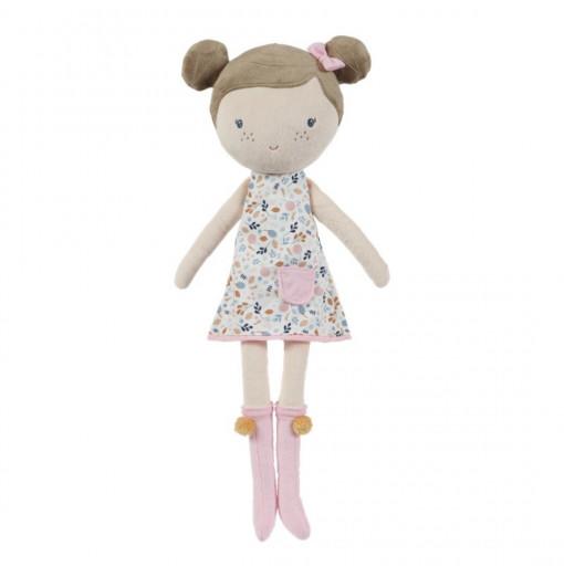 Muñeca Rosa con caja transportadora 50 cm - Little Dutch