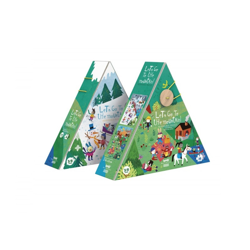Le'ts go to the mountain puzzle - Londji
