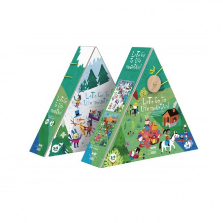 Let's go to the mountain puzzle - Londji