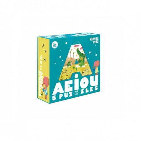 AEIOU Puzzle - Londji