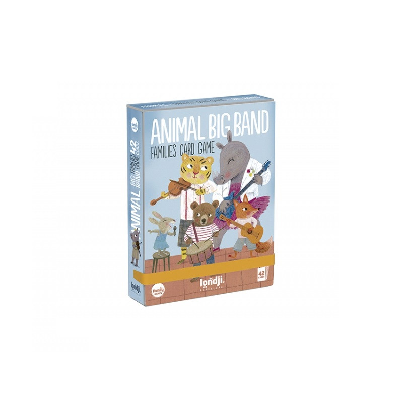 Juego de cartas Animal Big Band - Londji
