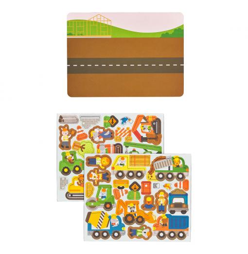 Juego magnético construcción  - Petit Collage