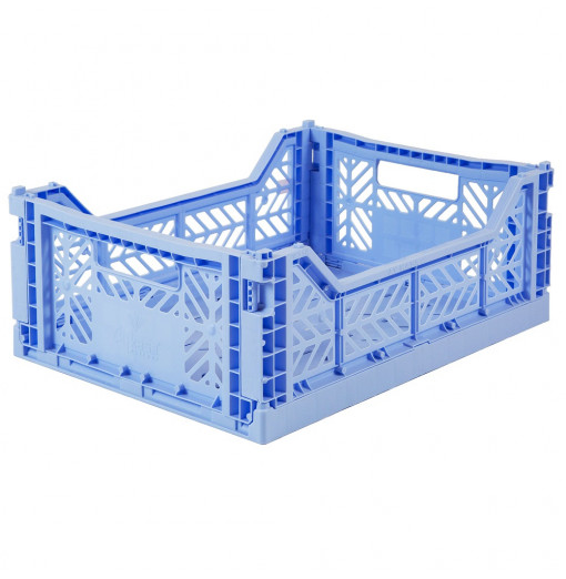Caja plegable  - azul claro
