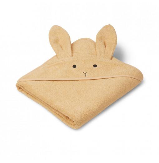 Toalla Rabbit amarillo vainilla - Liewood