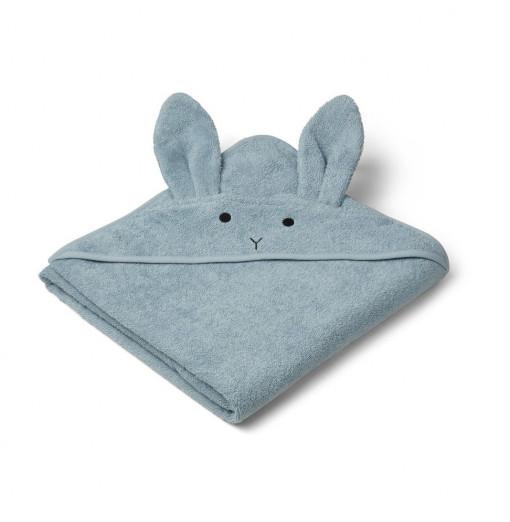 Toalla Rabbit azul - Liewood
