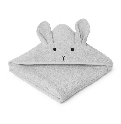 Toalla Rabbit Dumbo grey baby - Liewood