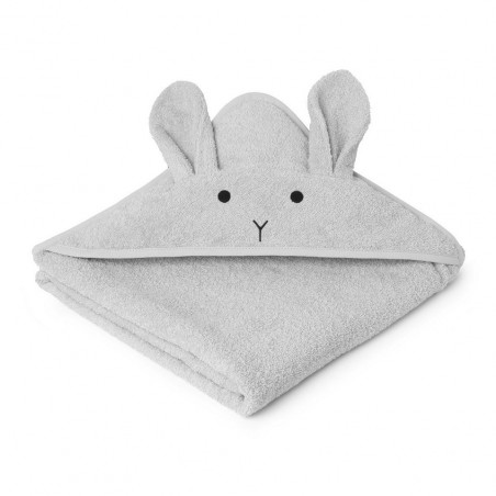 Toalla Rabbit Dumbo grey baby - Liewood