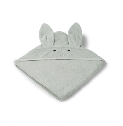 Toalla Rabbit mint Baby - Liewood