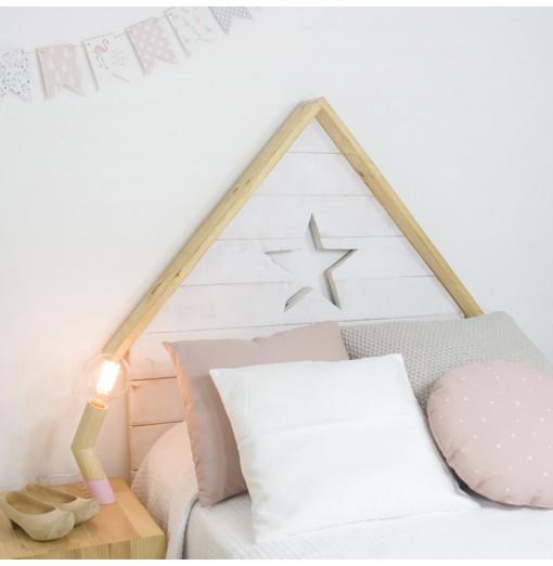 Cabecero casita con estrella - Varios colores