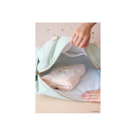 Bolso de maternidad Ópera aqua - Nobodinoz