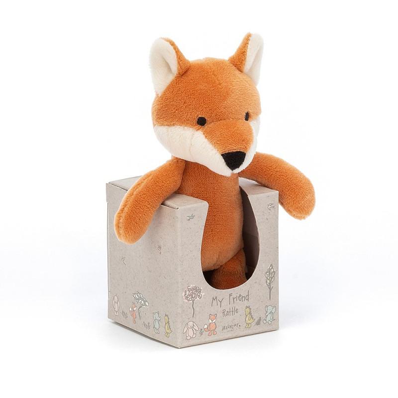 Mi amigo Fox Sonajero - Jellycat