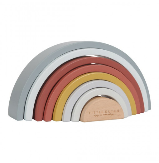 Arcoiris de madera personalizable - Little Dutch