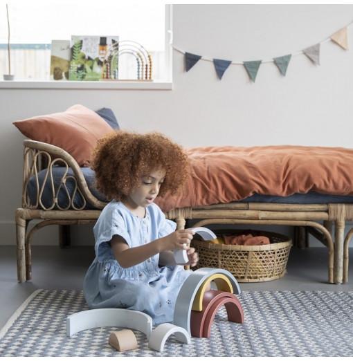 Arcoiris de madera personalizable - Little Dutch