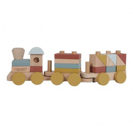 Tren de madera - Little Dutch
