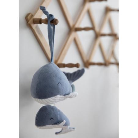 Móvil musical Ballena azul- Little Dutch