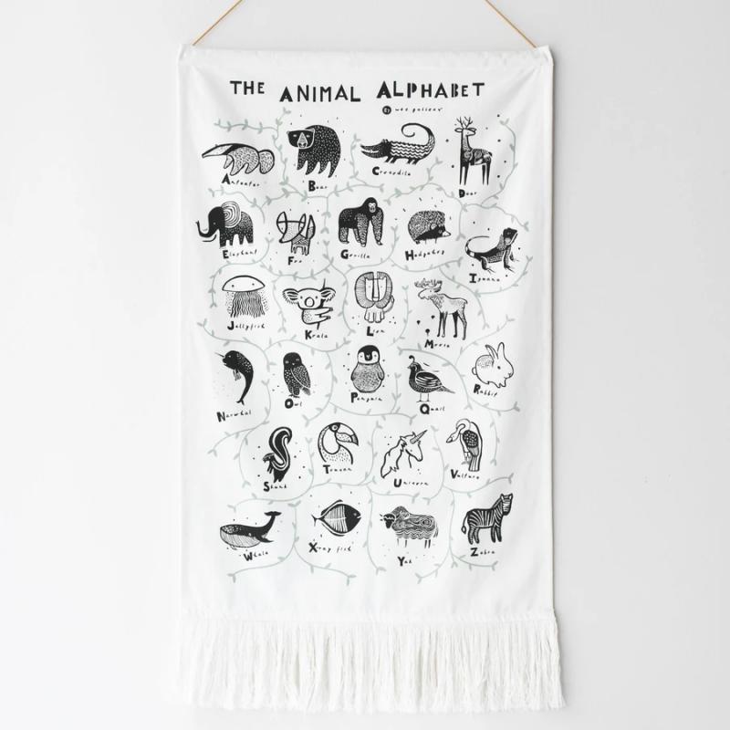 Tapiz Animal Alphabet - Wee Gallery