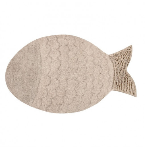 Alfombra big fish beige - Lorena Canals