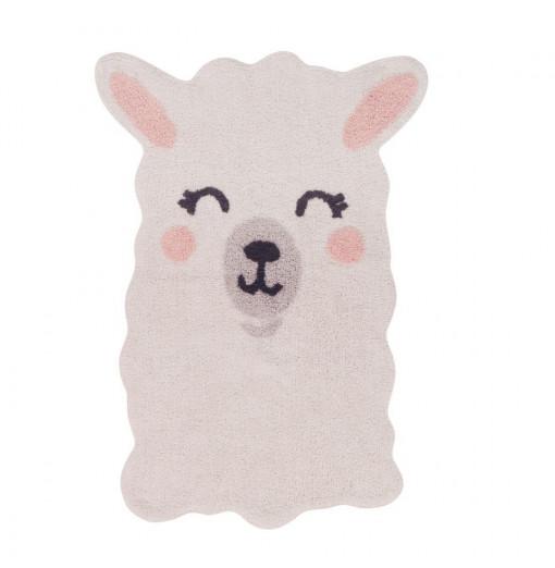 Alfombra lavable Smile Like a Llama- Lorena Canals