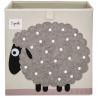 Cubo para almacenar juguetes Oveja - 3 Sprouts