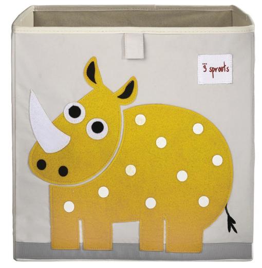 Cubo para almacenar juguetes Rhino - 3 Sprouts