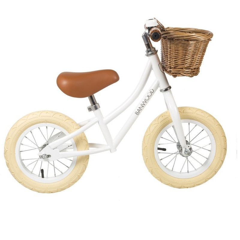 Bicicleta sin pedales blanca FIRST GO - Banwood