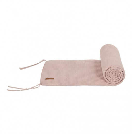 Protector de cuna rosa - Little Dutch