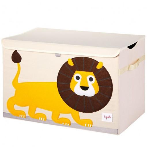 Baúl para juguetes león - 3 Sprouts