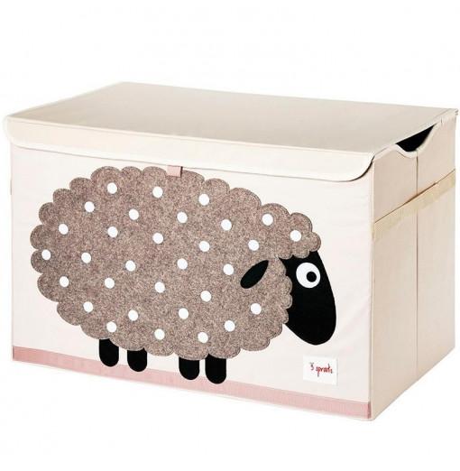 Baúl para juguetes oveja - 3 Sprouts