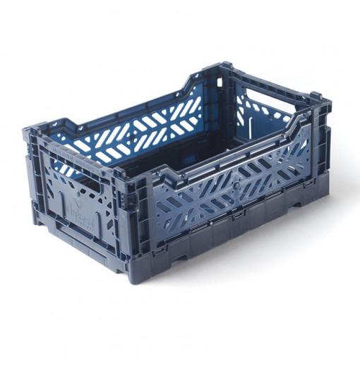 Caja plegable pequeña  - Azul Cobalto