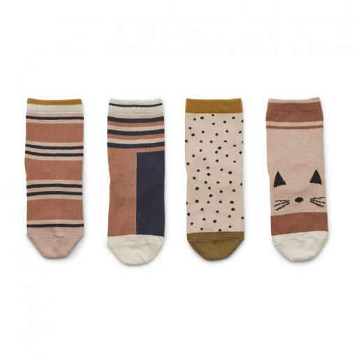 Pack de  pares de calcetines Rose Multi Mix - Liewood