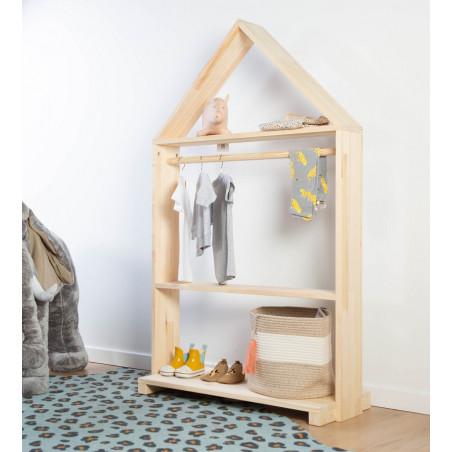 Armario infantil en forma de casita