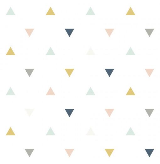 Papel Pintado triángulos...