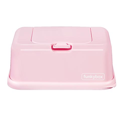 Caja para toallitas rosa -...
